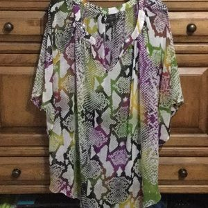 Worthington Woman 3/4 Sleeve blouse